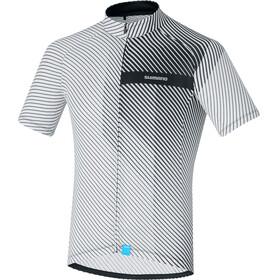 Shimano Climbers Fietsshirt korte mouwen Heren wit